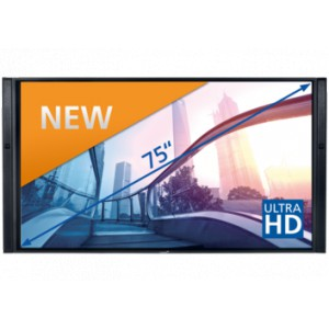 "Legamaster Touch-Screen XTX 55"" UHD schwarz"
