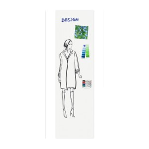 Legamaster Whiteboard Wall-UP 200x59,5cm