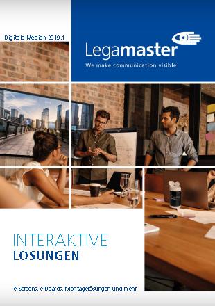 "Legamaster Katalog 2019 ""Digitale Medien"""