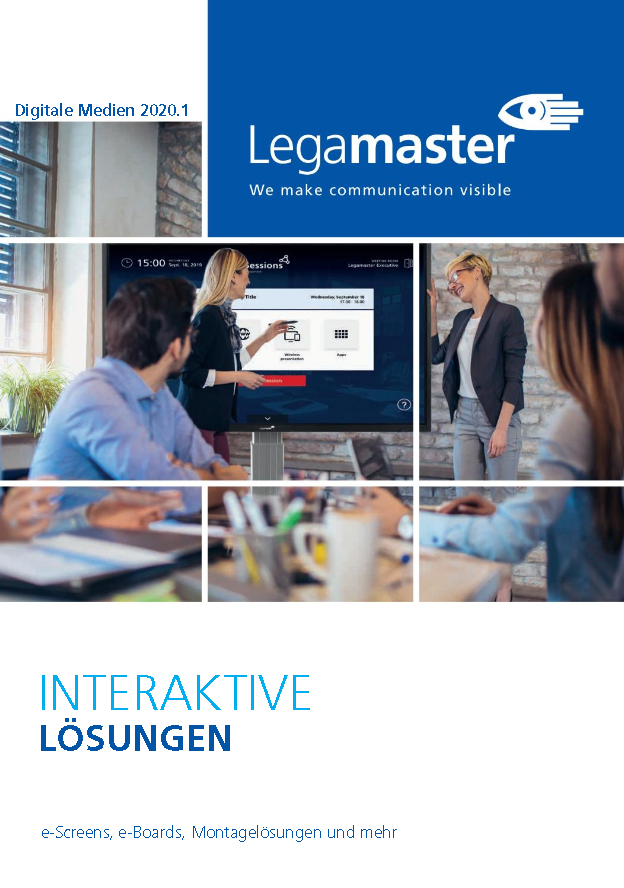 "Legamaster Katalog 2020 ""Digitale Medien"""